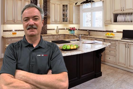 Brian Corsair, Owner of Stone & Tile Medics