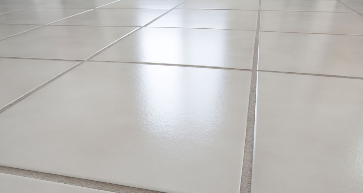 clean tile and grout lines
