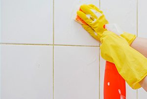 Why is my grout turning yellow?